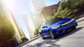 2016 Honda Civic driving