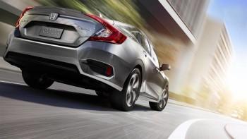 2016 Honda Civic rear