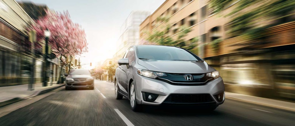 2017 Honda Fit in silver