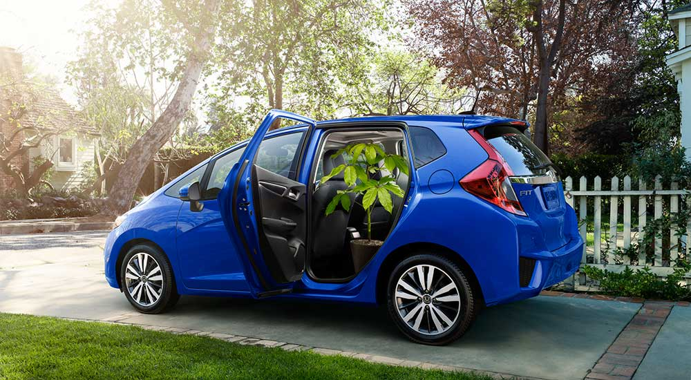 2017 Honda Fit trims