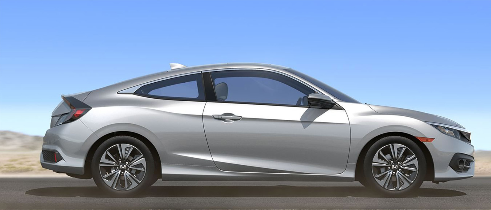 2017 Honda Civic Coupe exterior