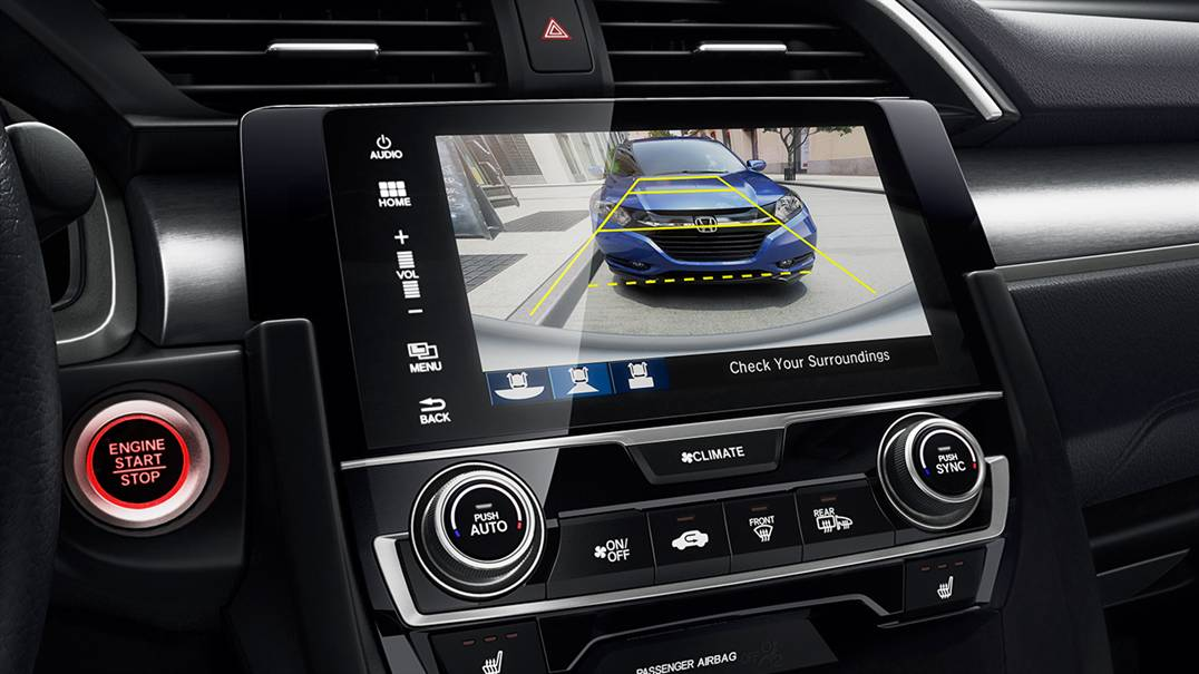 Civic Rearview Camera