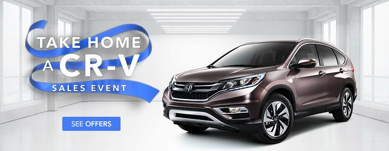 Tri-State Honda Take Home a CR-V Sales Event