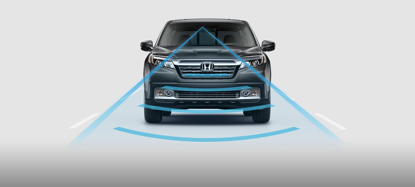 Ridgeline Collision Mitigation Braking System