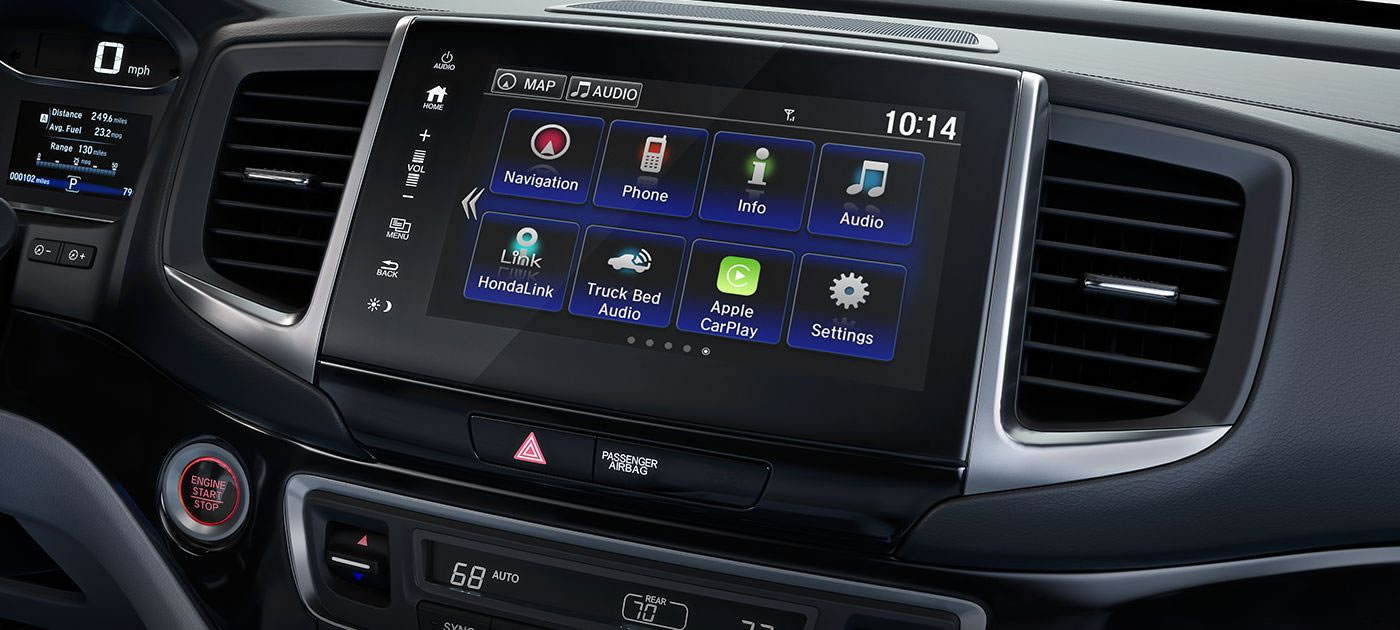 Ridgeline Touch Screen