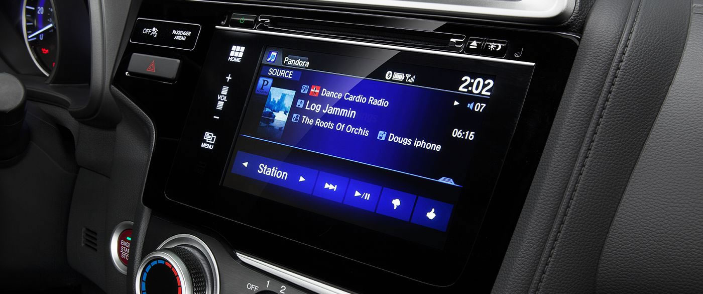 Honda Fit 7 Inch Touchscreen Display