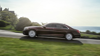 2015 Mercedes-Benz S-Class S550 Side