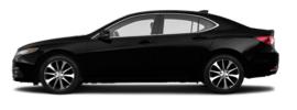 Acura TLX side profile
