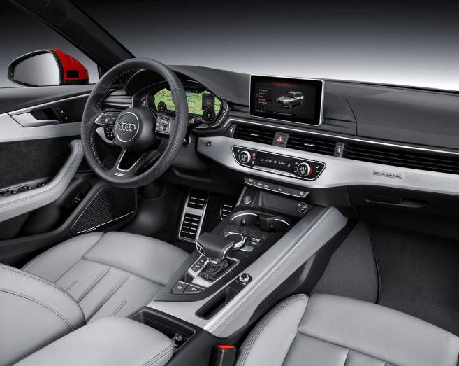 2016 Audi A4 vs 2016 Acura TLX Interior