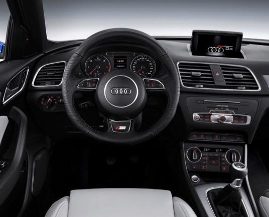 2016 Audi Q3 vs 2016 Lexus NX 200t Interior