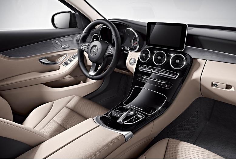 2016 Mercedes-Benz C300 vs 2016 BMW 328i Interior