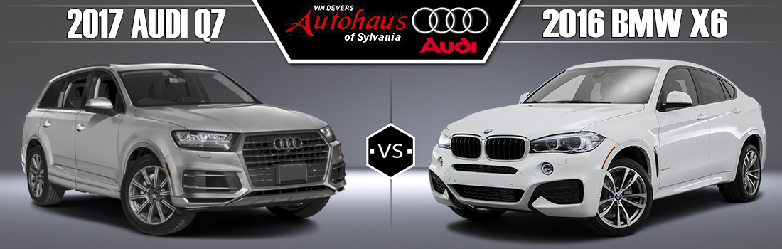 Audi Q Vs BMW X In Sylvania OH Vin Devers Autohaus - Audi vs bmw