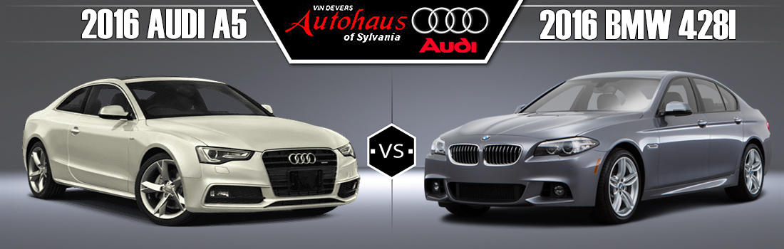 2016 Audi A5 vs 2016 BMW 428i
