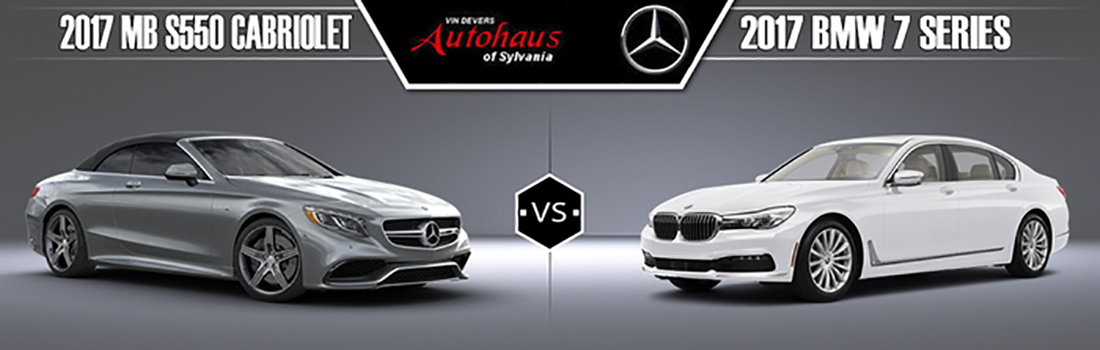 2017 Mercedes-Benz S550 vs. 2017 BMW 7 Series