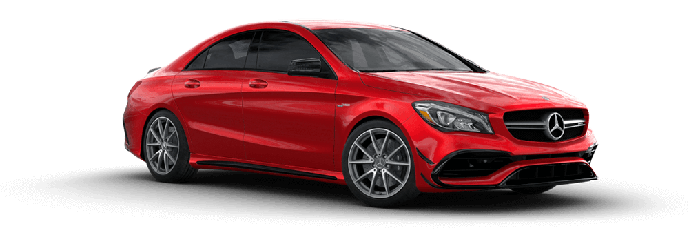 2017 MB AMG CLA 45 Red