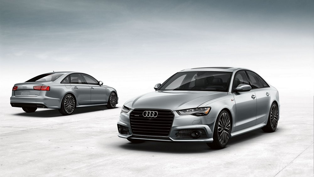 2017 Audi A6 front and back