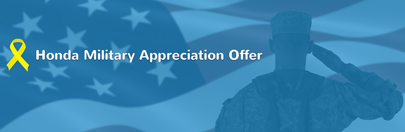 West Michigan Honda Military Appreciation Offer