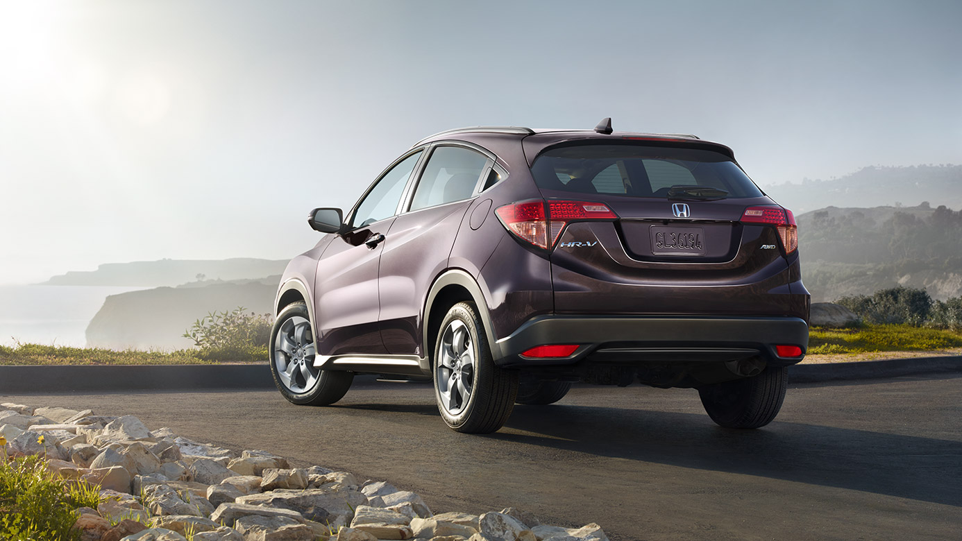 2016 Honda HR-V Rear View
