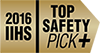 2016 IIHS Top Safety Pick+