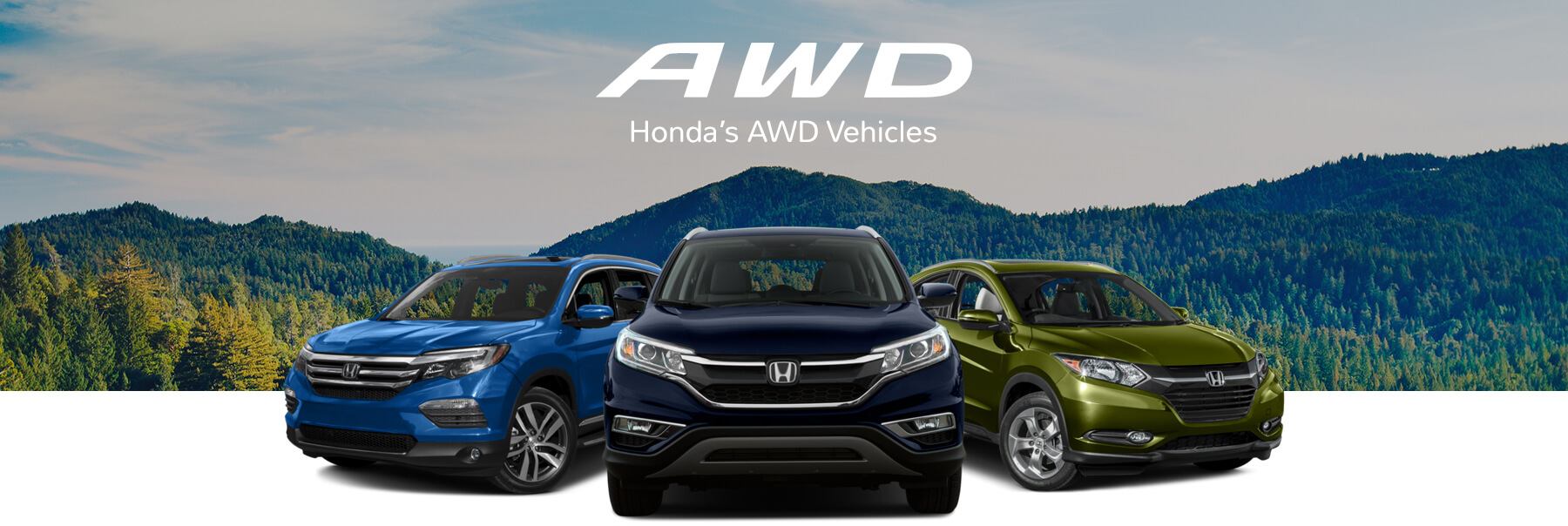 Honda AWD Vehicles