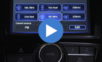 Honda Odyssey Display Audio System