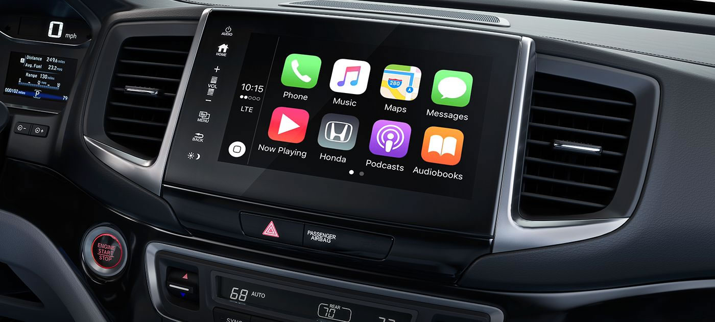 Ridgeline Apple Car Play Android Auto