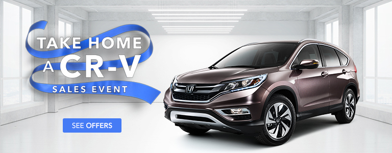 West Michigan Honda Take Home a CR-V Sales Event
