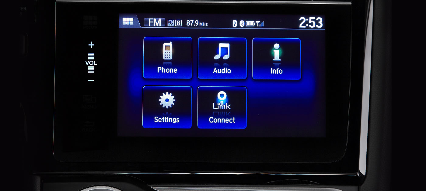 Honda Fit Touch Screen
