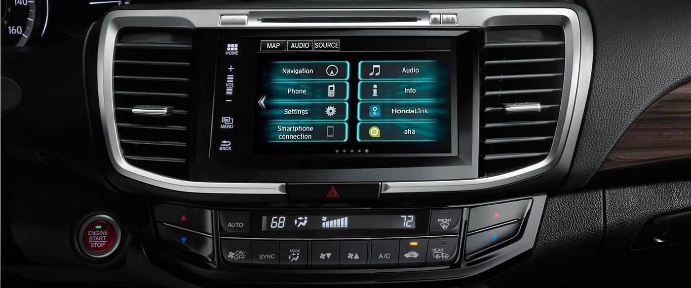 Honda Accord Hyrid Radio Options