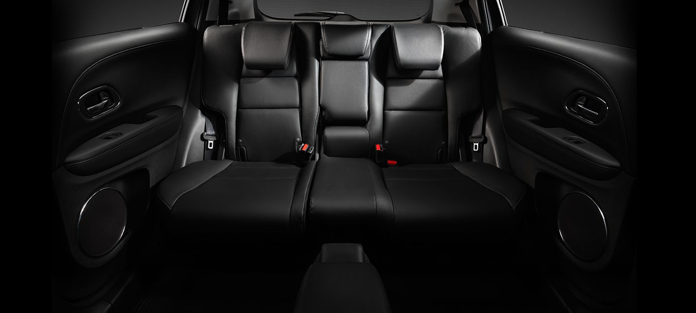 Honda HR-V Interior Rear Passenger Seating