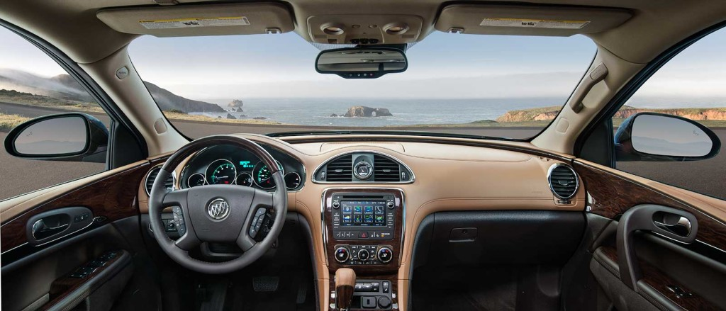 2017 Buick Enclave dashboard