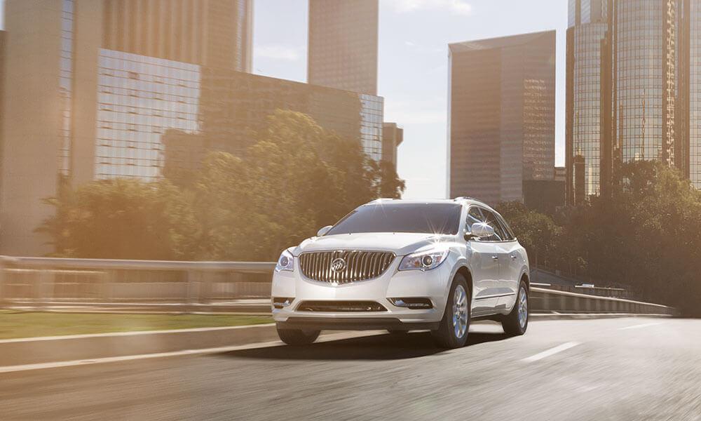 2017 Buick Enclave test drive