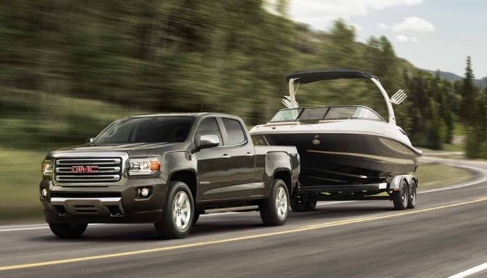 2017 GMC Canyon dark exterior