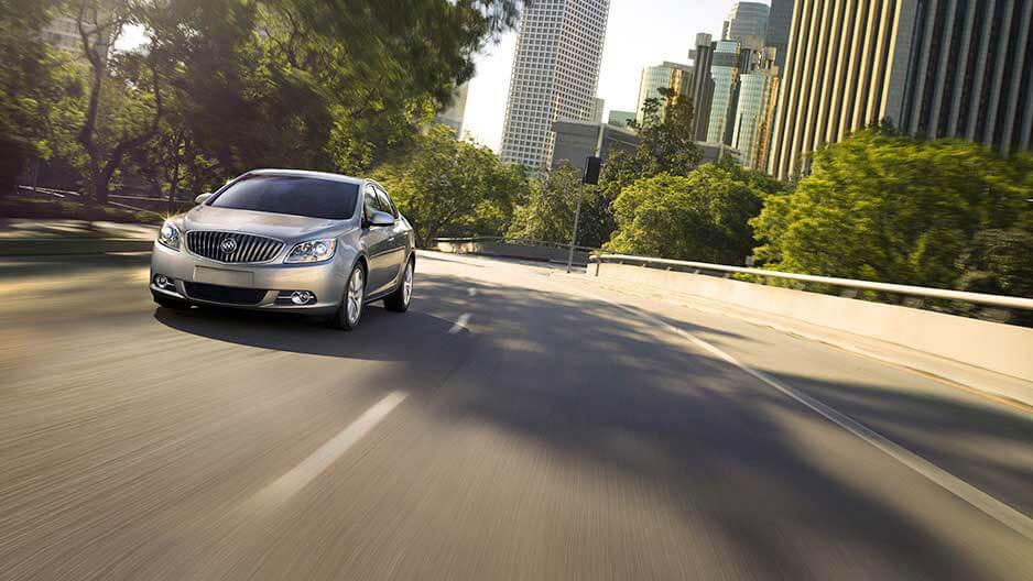 2017 Buick Verano trims
