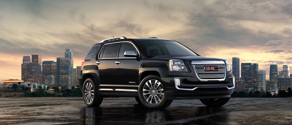 2017 GMC Terrain in black