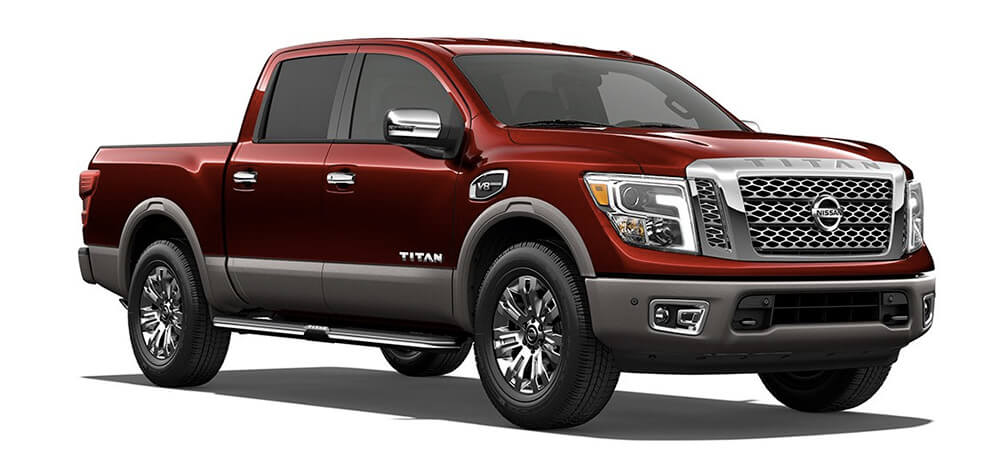 the 2017 gmc sierra 1500 vs the 2017 nissan titan. Black Bedroom Furniture Sets. Home Design Ideas