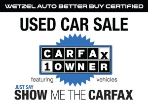 CarFax Sale Large
