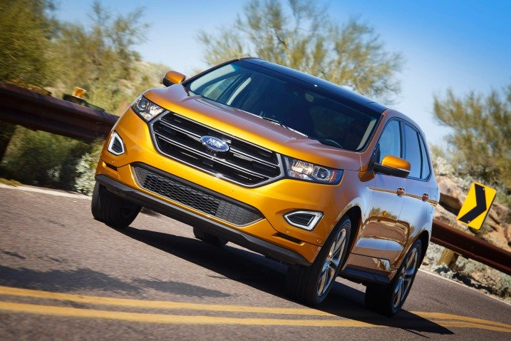 The 2016 Ford Edge