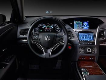 2016 Acura RLX Heads-up Display