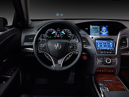 Acura RLX Heads-up Display