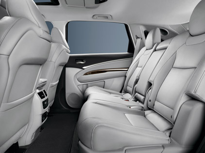 Acura MDX Leather Seating