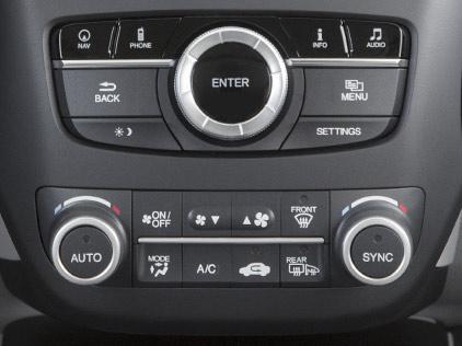 Acura RDX Automatic Climate Control