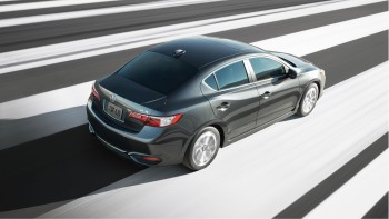 Acura ILX driving down the road
