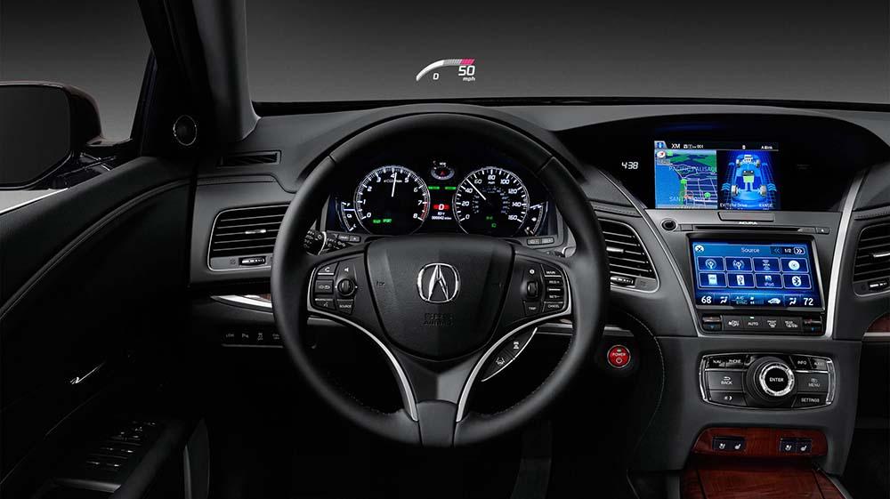 Acura RLX Sport Hybrid Interior