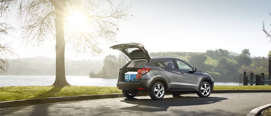 2016 Honda HR-V rear cargo