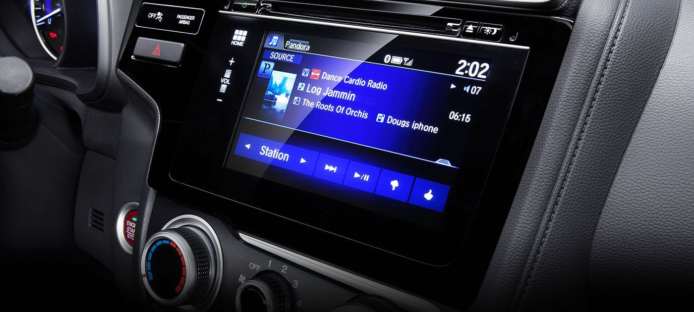 Honda Fit Volume Control Radio