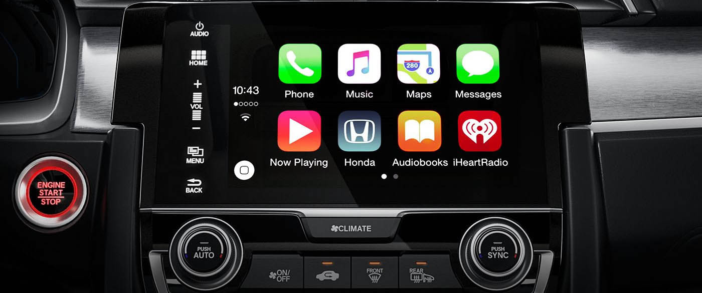 Honda Civic Apple Carplay