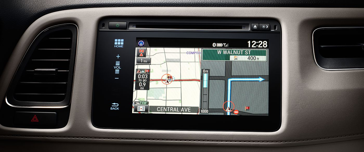 2017 Honda HR-V Navigation Screen