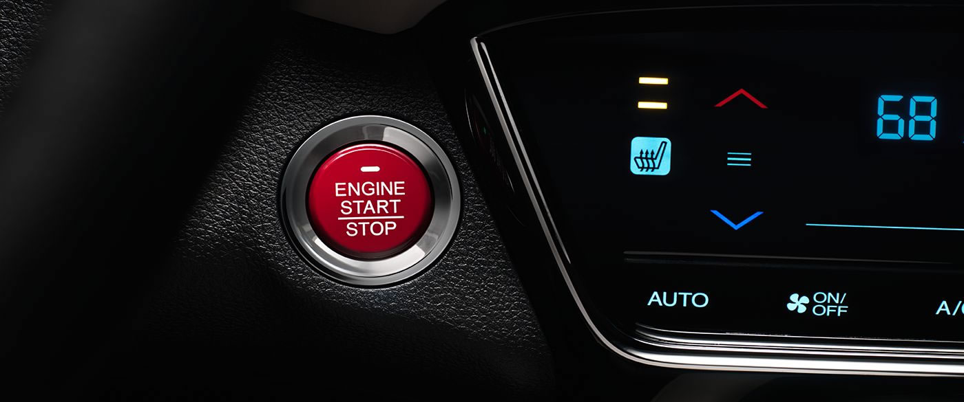 2017 Honda HR-V Push Start Button