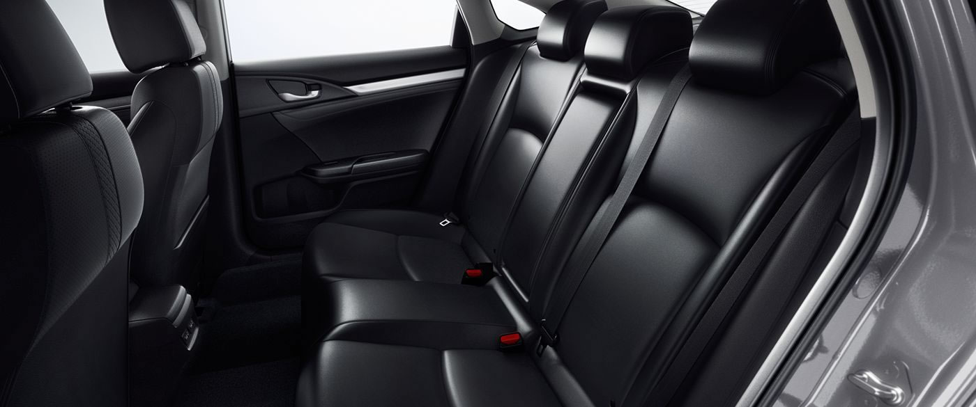 Honda Civic Rear Seat with LATCH Anchors
